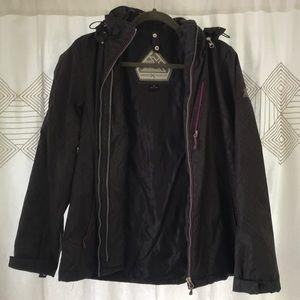 Winter shell jacket